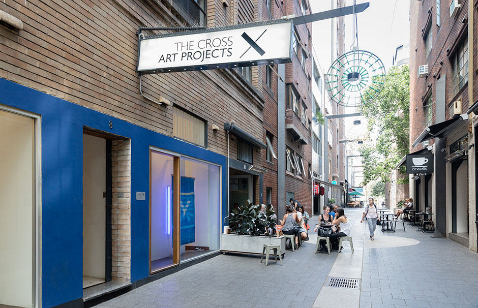 The Cross Art Projects, art gallery, Kings Cross, Sydney