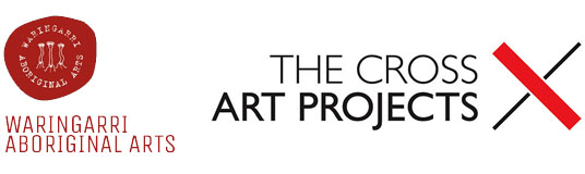 Logo Waringarri Art & The Cross Art Projects